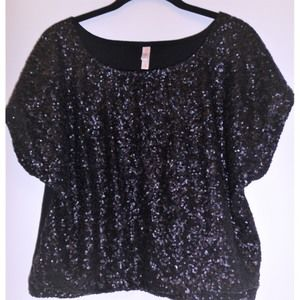 Sequin Top, Sleeveless